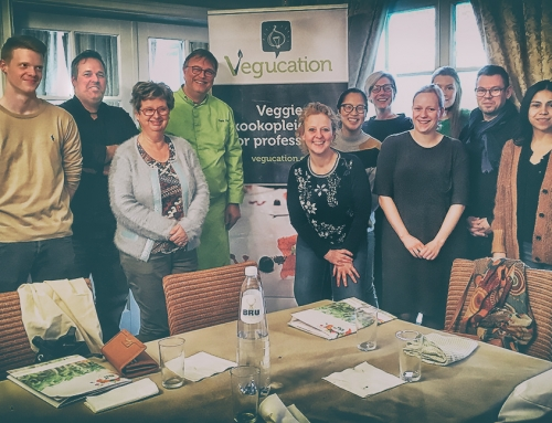 Workshop veganisme bij Frank Fol